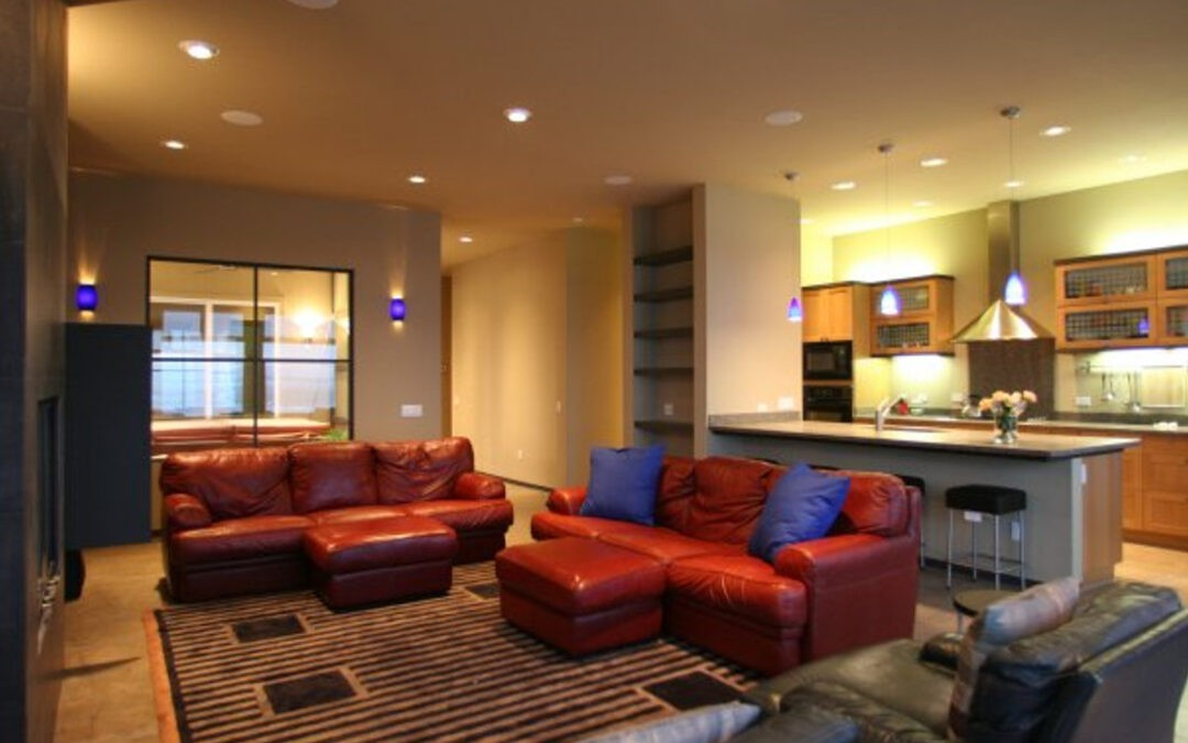 NW Oceania Dr – Living Room Build