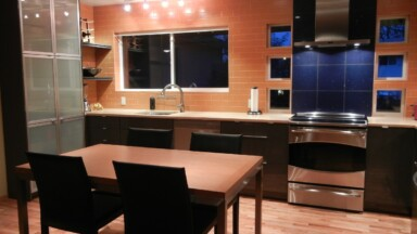 Kitchen remodeling project in Portland