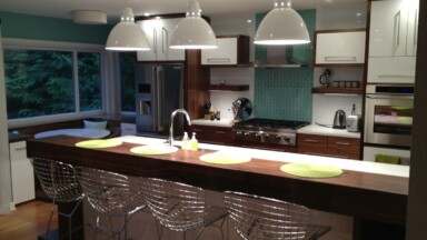 Modern kitchen remodel with SEKTION cabinets