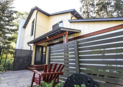 Exterior renovation for a duplex in Eugene, OR