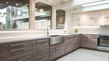 Modern kitchen in Eugene, OR
