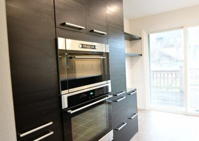 Kitchen remodel with TINGSRYD slab cabinet doors