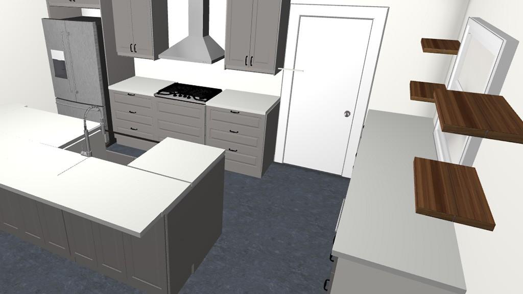 Hillcrest Creek – Kitchen Design