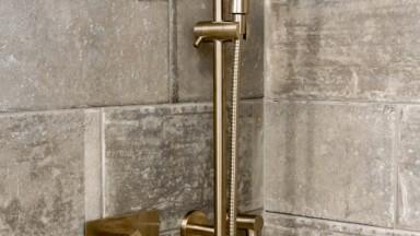 Bathroom remodel shower fixtures