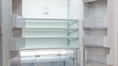 Modern kitchen remodel refrigerator