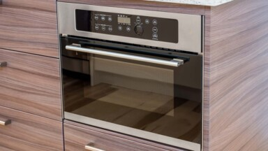 Modern kitchen remodel oven