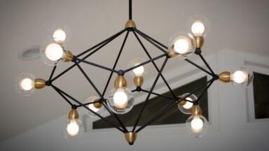 Open floor plan remodel lighting
