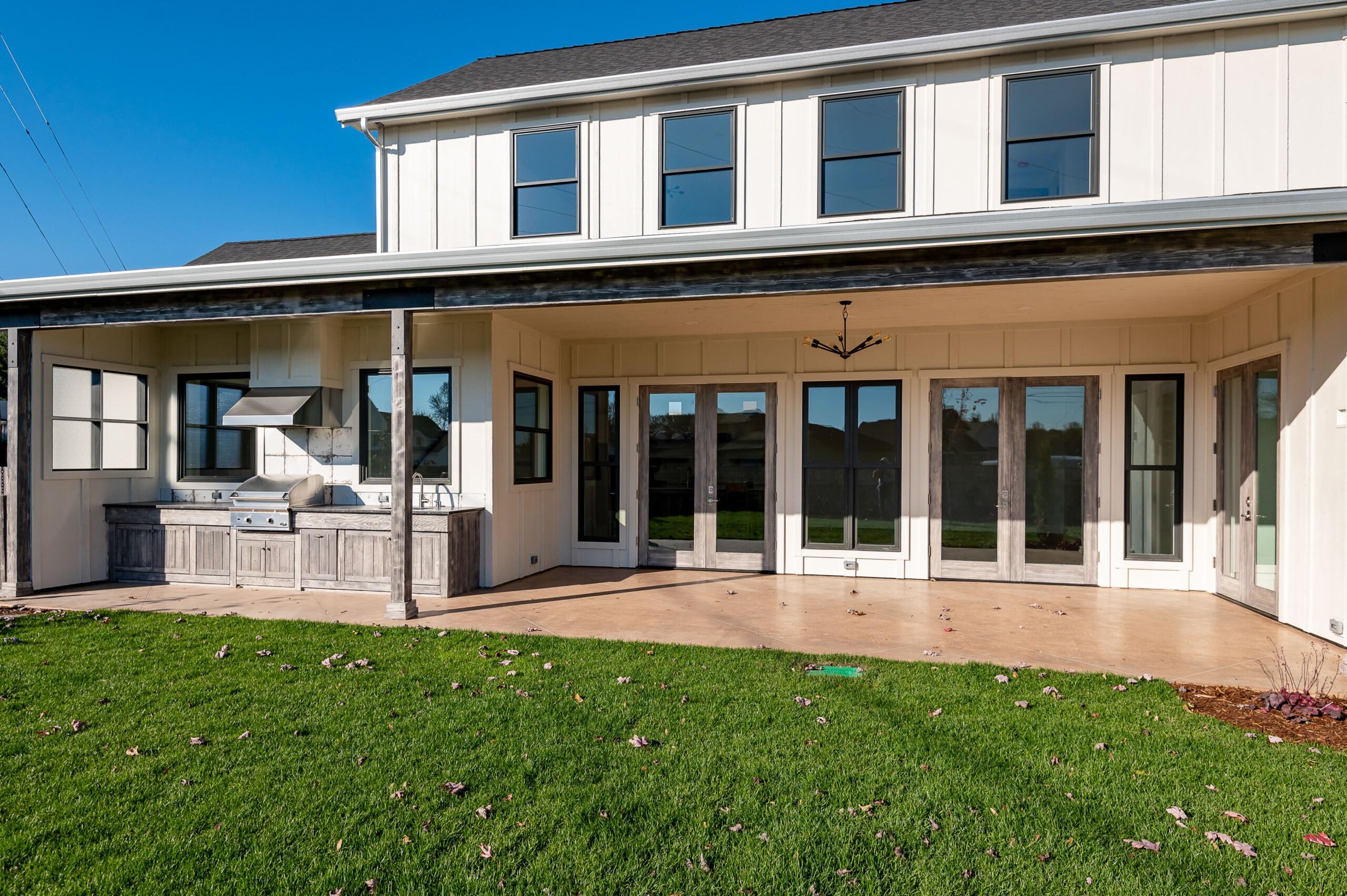 Exterior renovation by John Webb Construction & Design