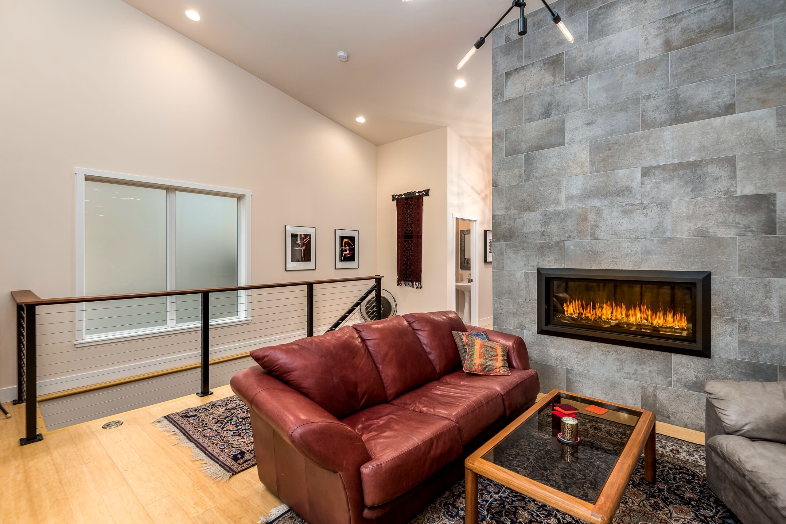 Interior remodel by John Webb Construction & Design