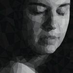 Gareth Morgan Blink, 2018 40 x 20cm acrylic on canvas
