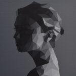 Gareth Morgan Small Study (E.V.), 2018 20 x 20cm acrylic on canvas private collection