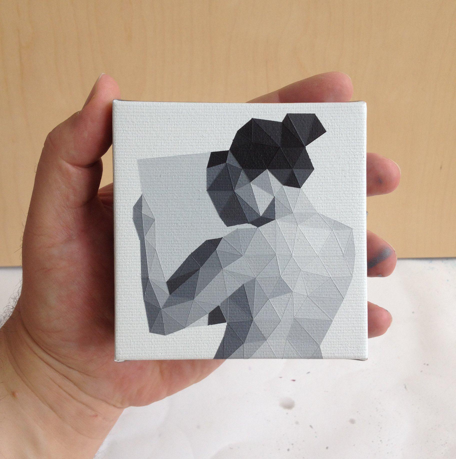 Gareth Morgan Smallest Painting