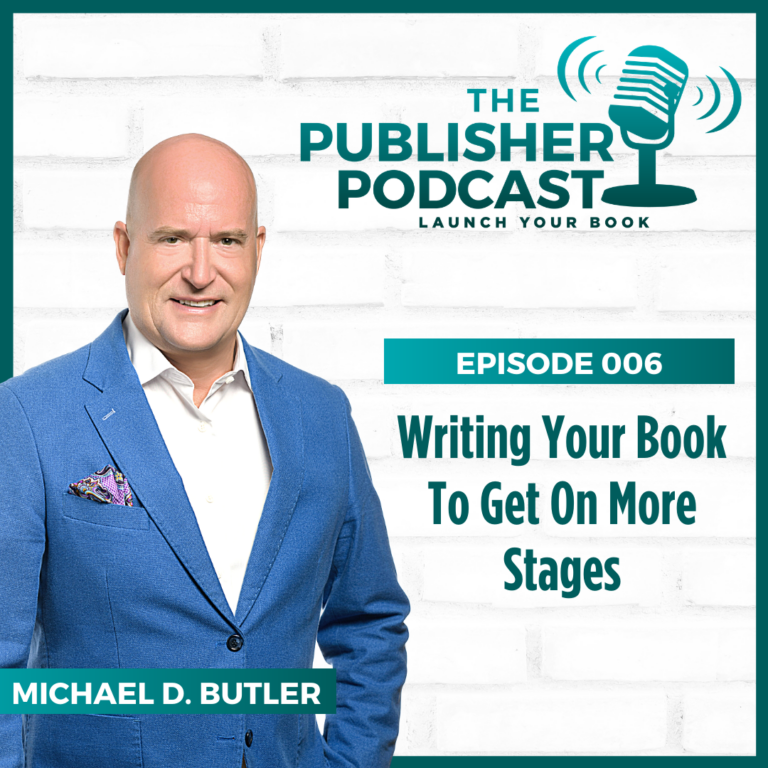 Writing Your Book to Get on More Stages