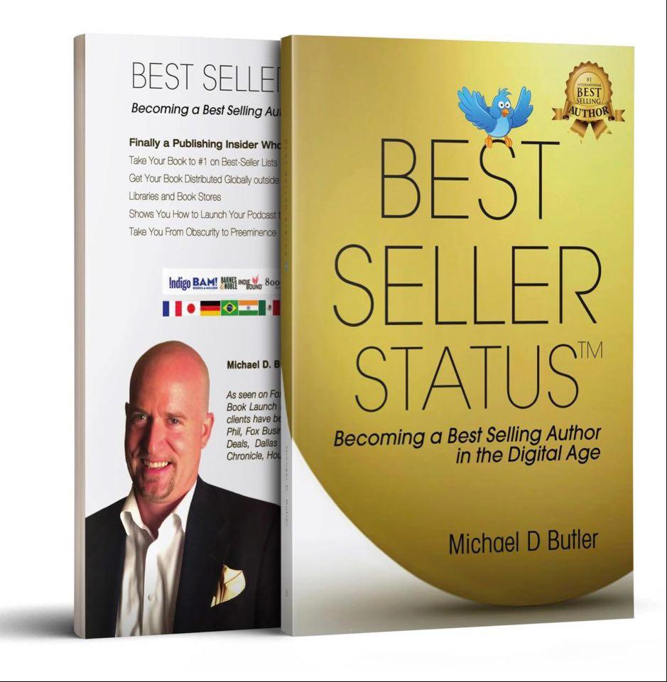 Bes-Seller Status-Author Michael D Butler Beyond Publishing