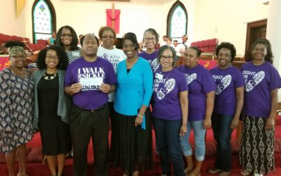 Wesley Warriors Walk For Sickle Cell & Donate $1,000