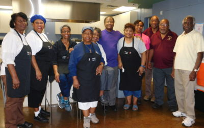 E-Team Cooks Lunch at The Ronald McDonald House