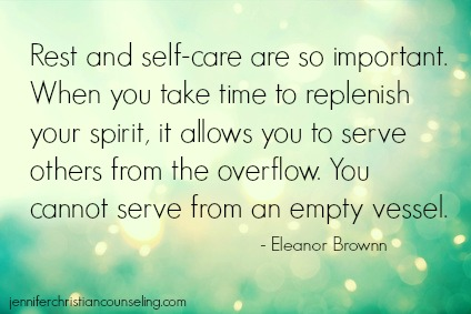 Rest and Self-Care