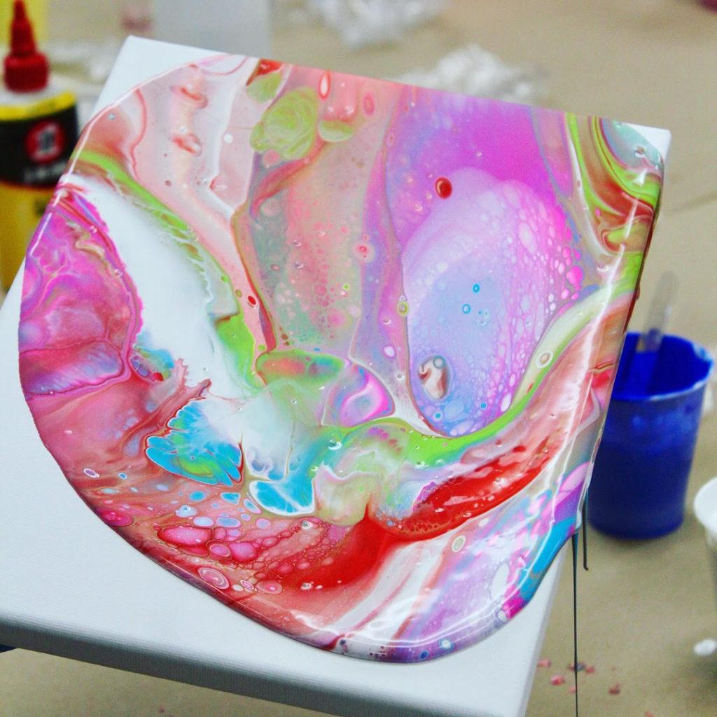 Paint Pour Demo