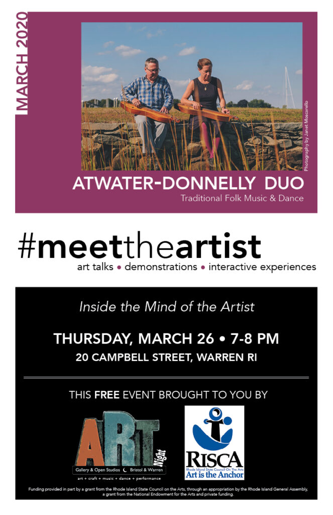 Meet the Artist March