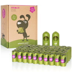 Earth Rated® Green Dispenser with Dog Waste Poop Bags