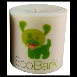 EcoBark Pet Odor Eliminating Pillar Soy Candle