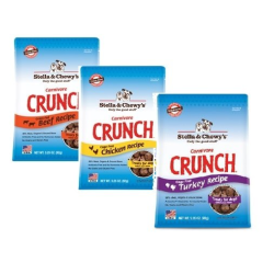 Stella & Chewy's Carnivore Crunch Variety Pack of 3 - Beef, Chicken, and Turkey