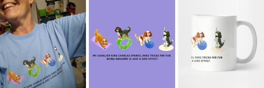 Funny Cavalier t-shirts and gifts