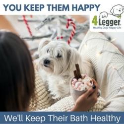 Organic dog shampoo
