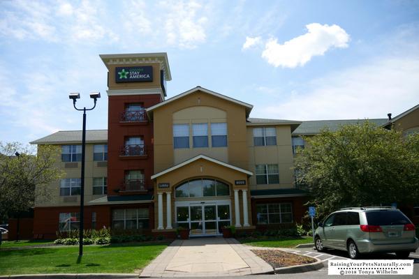 Dog friendly hotels around columbus ohio