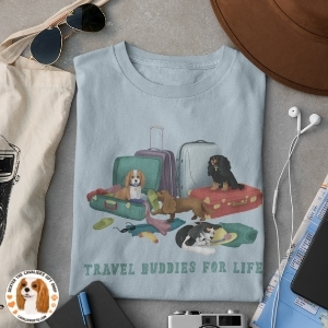 Travel with Cavalier t-shirts