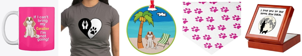 Pet lover and Cavalier lover gifts