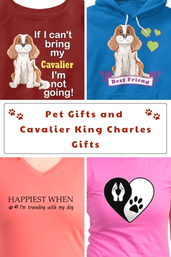 Gifts for Dog Lovers, Cat Lovers, and Cavalier King Charles Spaniel Lovers
