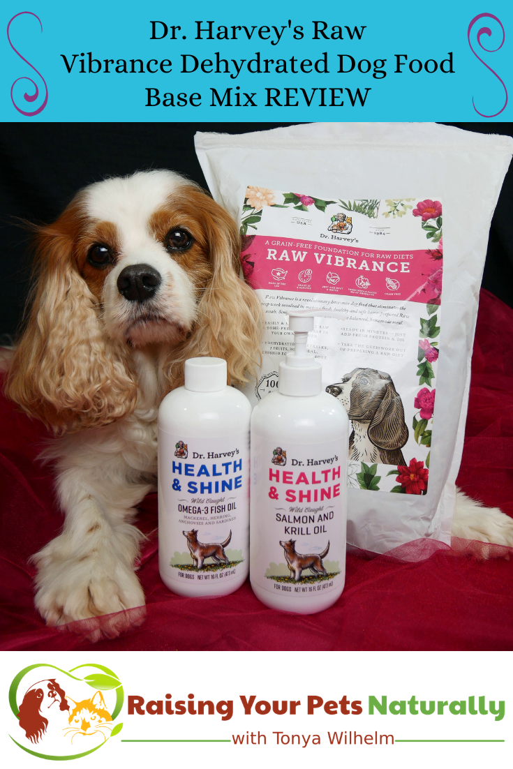 Raw Dog Food Diet Brands   Dr. Harvey\'s Raw Vibrance Dehydrated Dog Food Base Mix Review