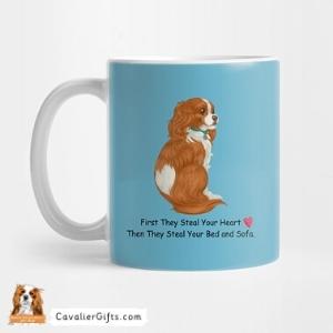 Cavalier heart dogs