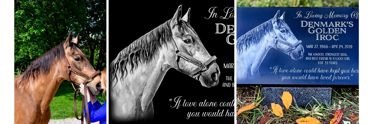 Pet loss gifts for horses