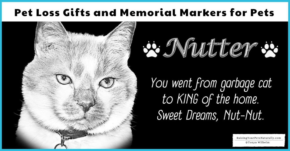 pet sympathy gifts