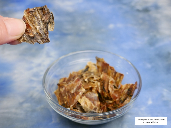 Dehydrated oysters
