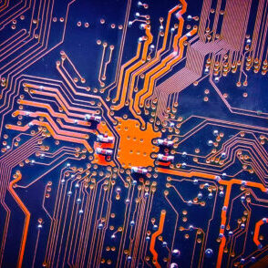 Circuit board electronic for background
