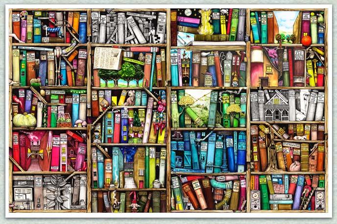 I Love Books! I'm writing one now!