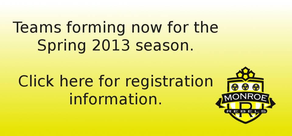 Spring 2013 Teams Forming Now