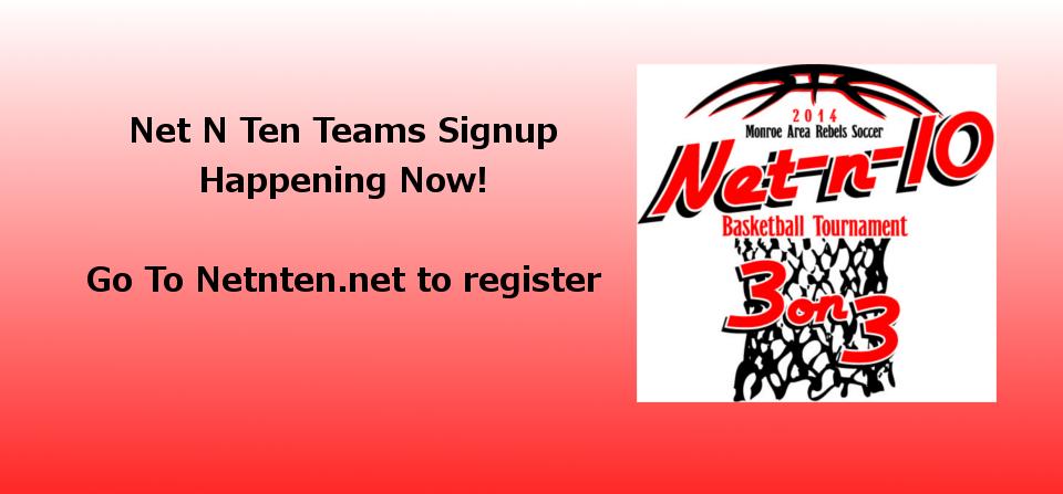 Net-N-Ten Registering Teams Now