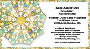 4th Annual Race Amity Celebration • The Wilson House • 68 High Street • Malden, MA @3:30pm @ The Wilson House