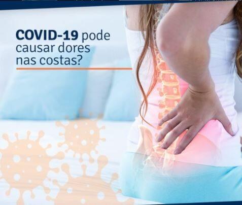 COVID-19 pode causar dor nas costas?