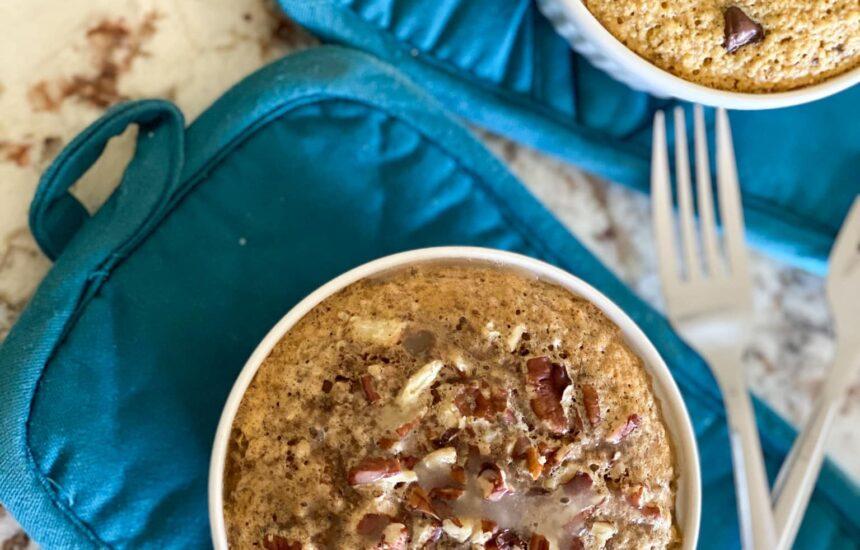Simple Oatmeal Breakfast Cakes