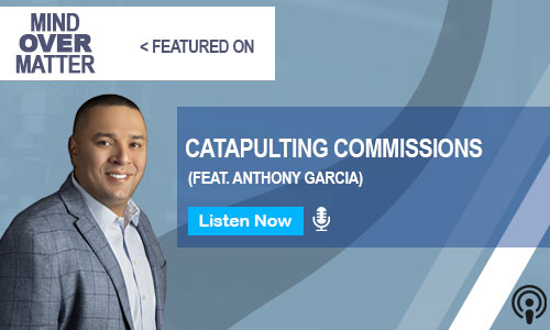 anthony garcia podcast feature mind over matter