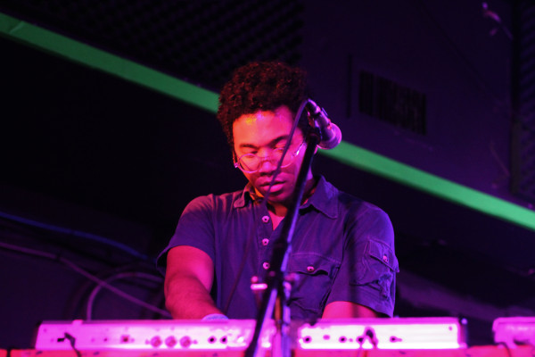 Toro y Moi performs at Rock and Roll Hotel in Washington, D.C. on Apr. 14, 2011.