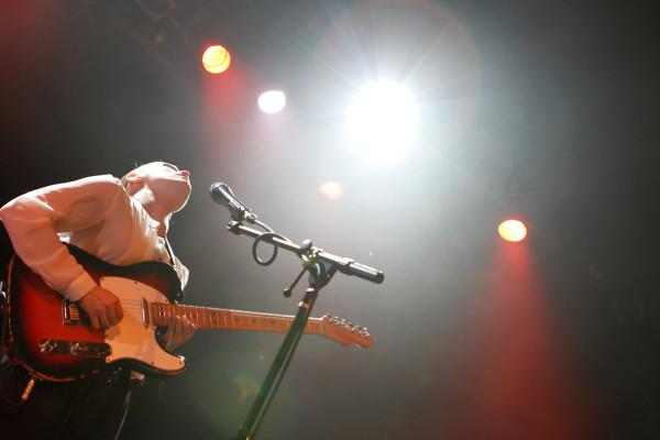 Anna Calvi plays Music Hall Of Williamsburg in Brooklyn, NY on Nov. 11, 2013.