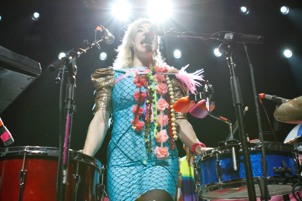 tUnE-yArDs plays at Webster Hall in New York, NY on June 22, 2014.