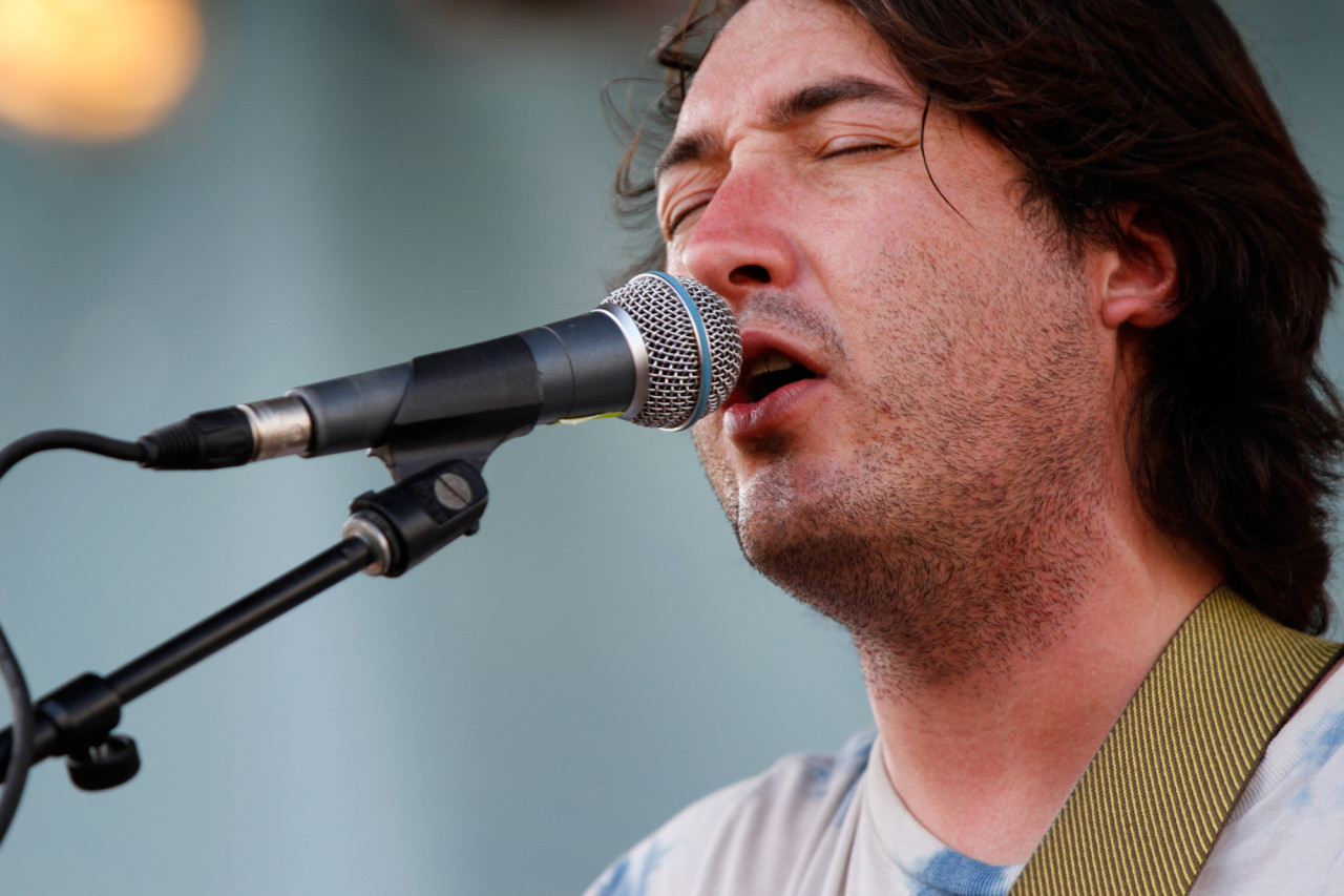 Mikal Cronin performs at Village Voice's 4Knots Festival at Pier 84 in New York, NY on July 11, 2015. (© Michael Katzif – Do not use or republish without prior consent.)