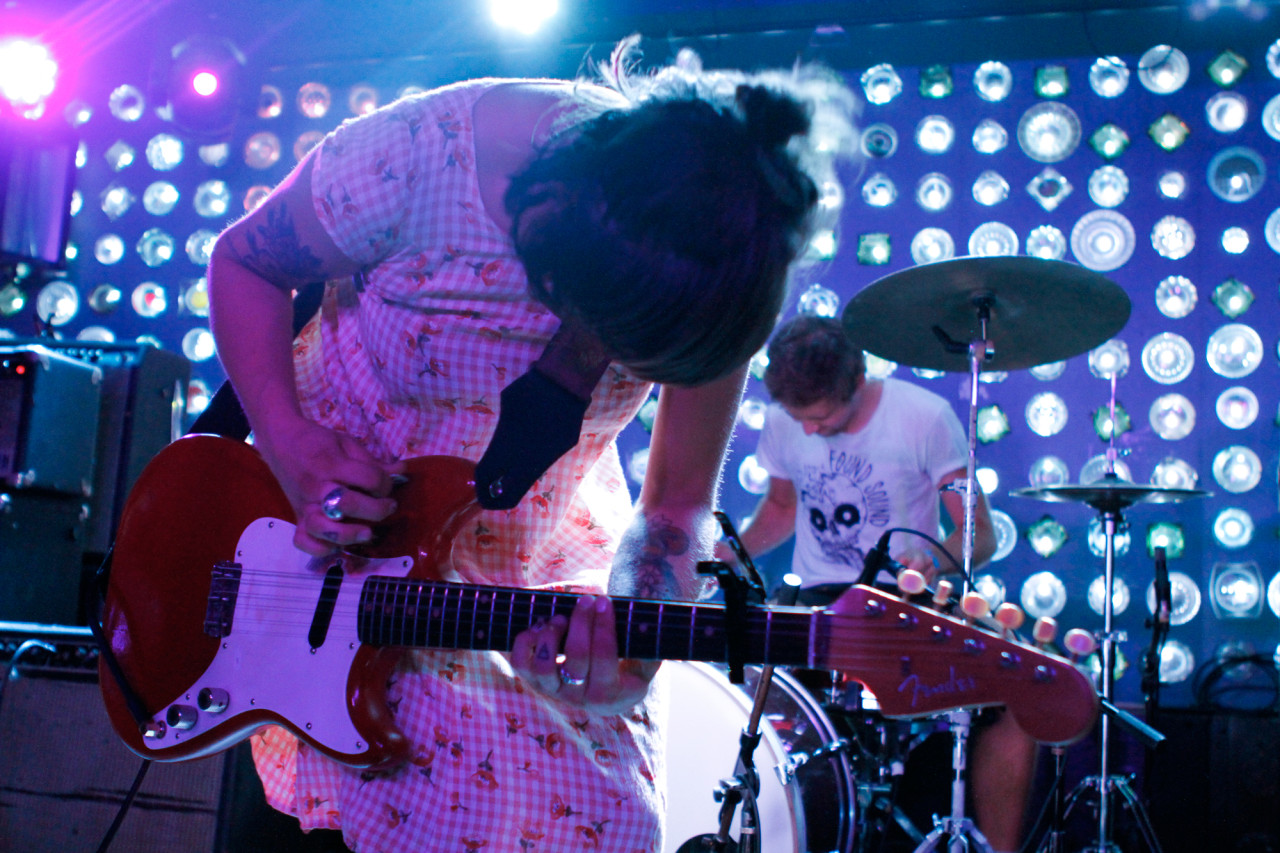 Chumped plays at Baby's All Right in Brooklyn, NY on Aug. 15, 2015. (© Michael Katzif - Do not use or republish without prior consent.)